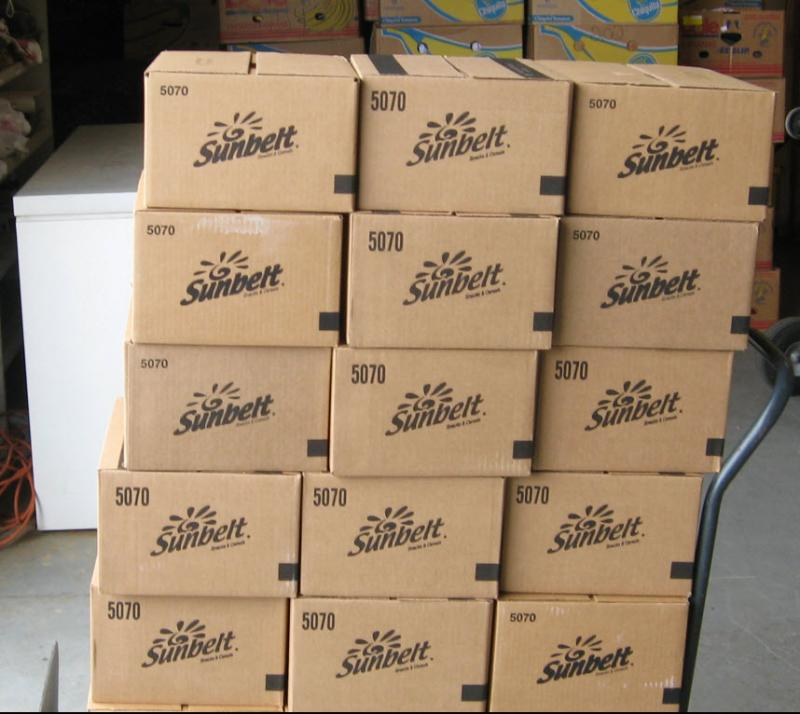 Pallet of Sunbelt Snacks